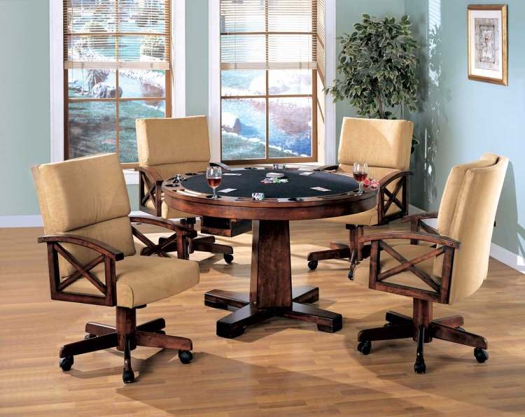 Marietta 3-in-One Game Table Set - Coaster