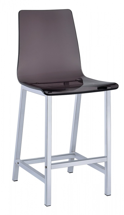 100266 24-inch Bar Stool - Smoke