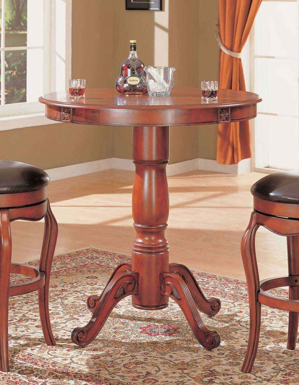 100268 Bar Table - Cherry