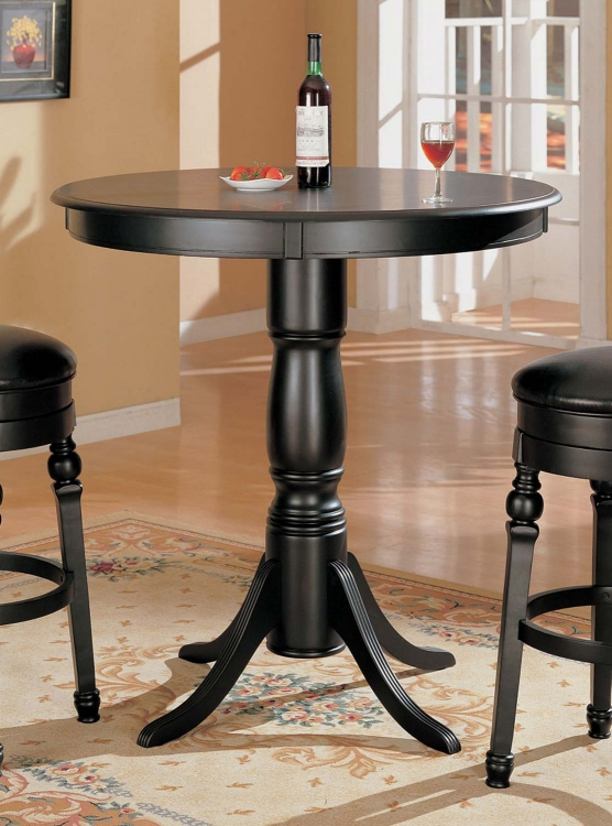 100278 Bar Table - Black