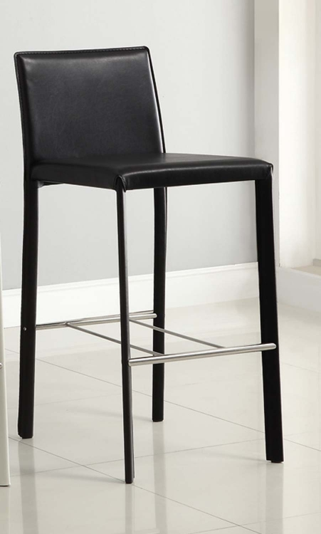 100330BLK Black 29in H Bar Stool