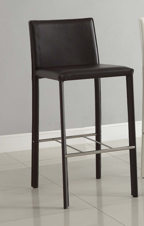 100330CHO Chocolate Bar Stool - Coaster