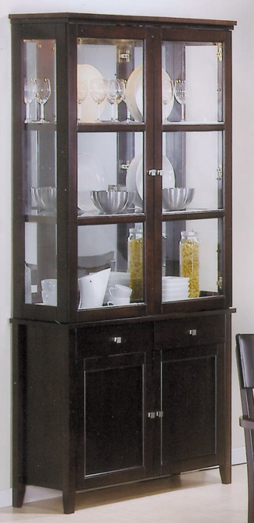 Springs China Cabinet - Coaster