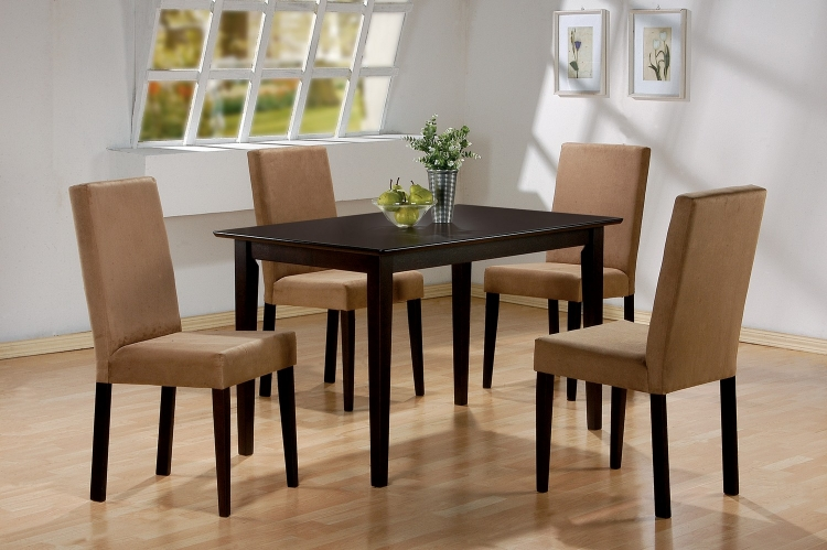 Clayton Dining Set - Cappuccino