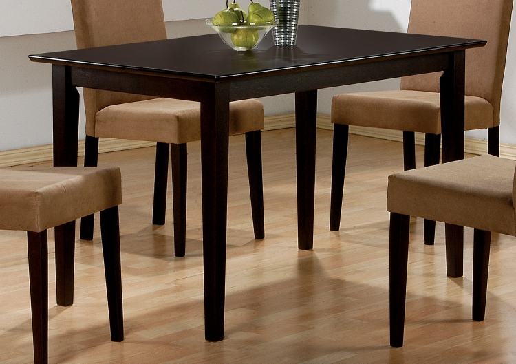 Clayton Dining Table - Cappuccino