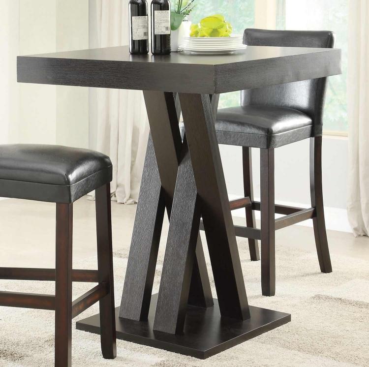 100520 Bar Table - Cappuccino