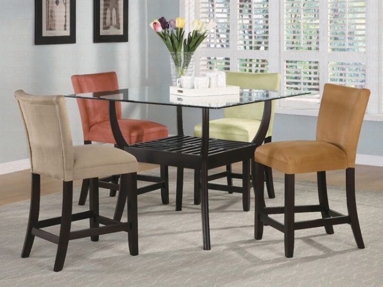 Bloomfield Rectangular Counter Height Dining Set - Coaster