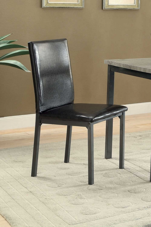 Garza Side Chair - Black