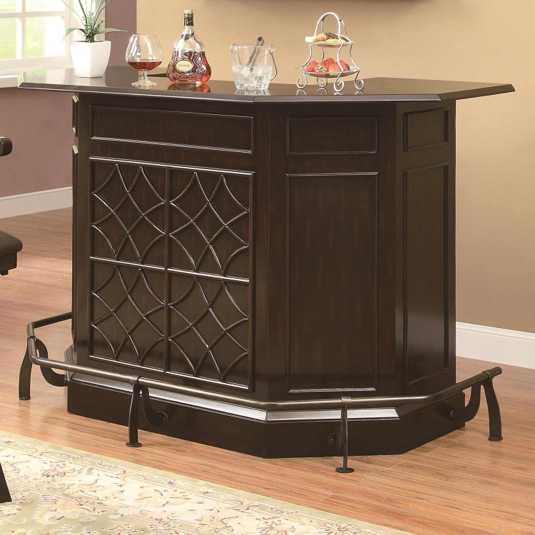 Transitional Bar Unit - Deep Cherry