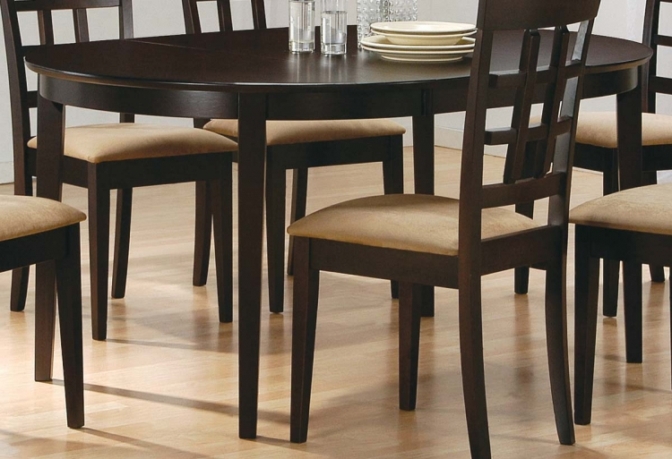 Mix and Match Oval Dining Table