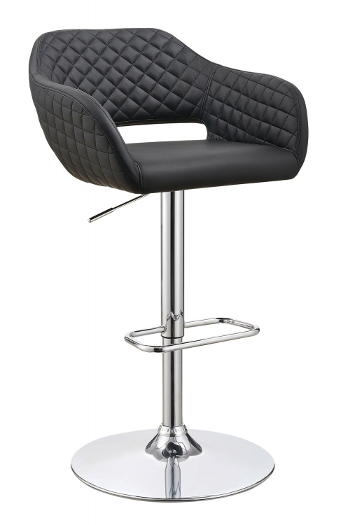 100828 Adjustable Bar Stool - Chrome