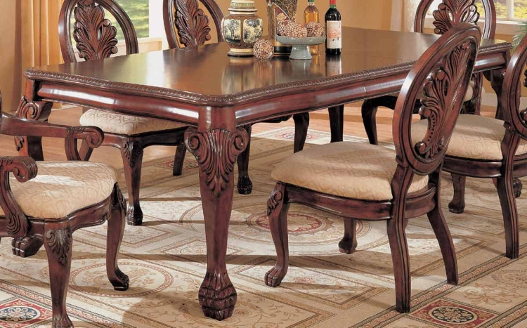 Tabitha Dark Leg Dining Table
