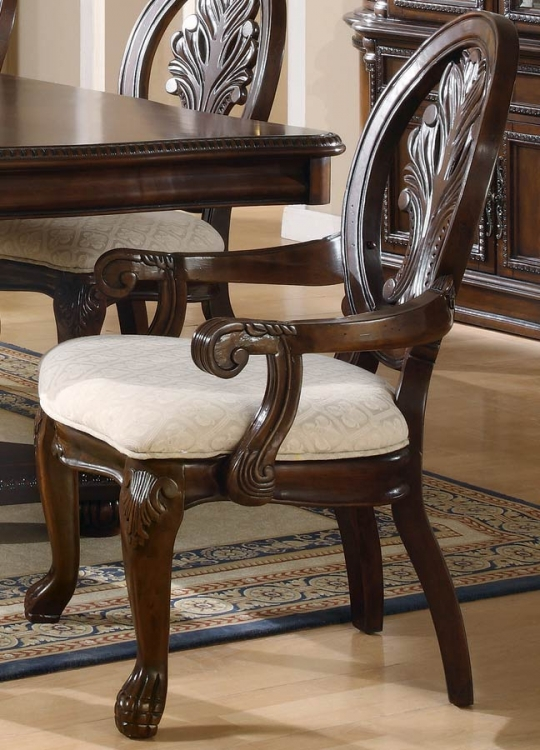 Tabitha Dark Arm Chair