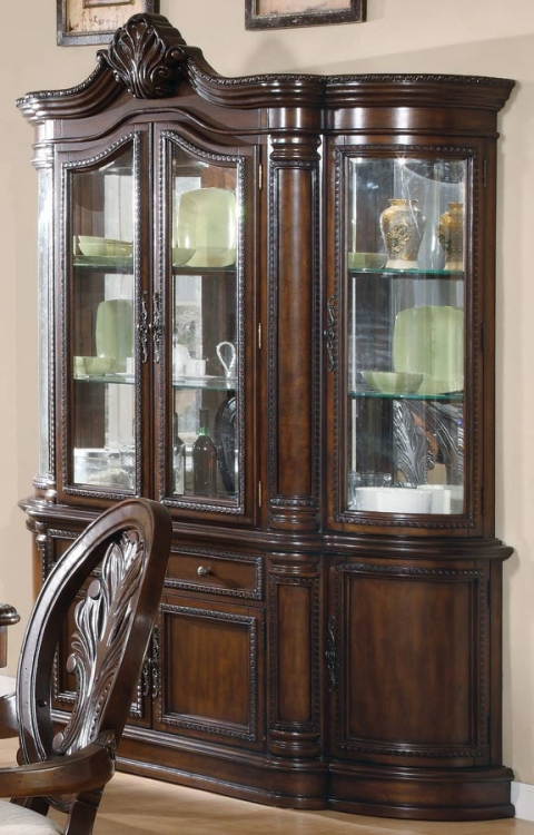 Tabitha Dark China Cabinet - Coaster