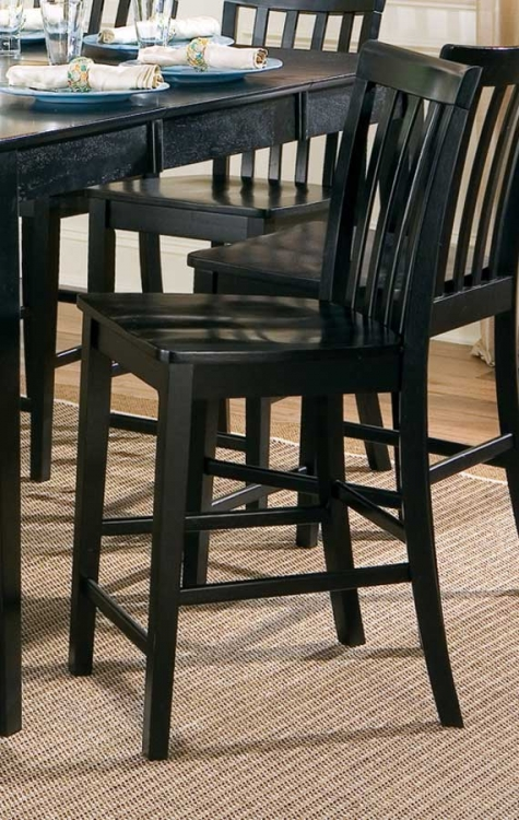 Pines Counter Stool - Black