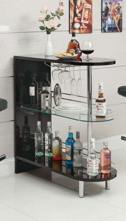 101063 Bar Table - Black - Coaster