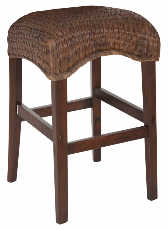 Westbrook 24in Stool - Dark Brown