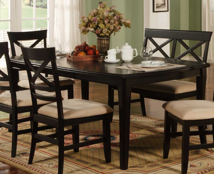 Sheldon Dining Table - Black
