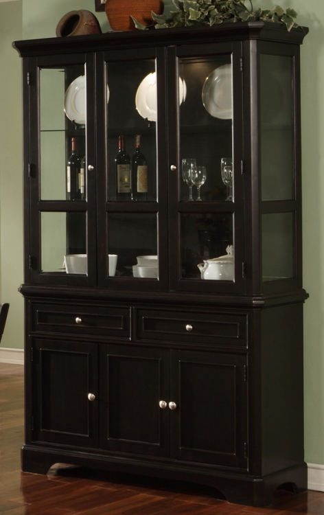 Sheldon China Cabinet - Black