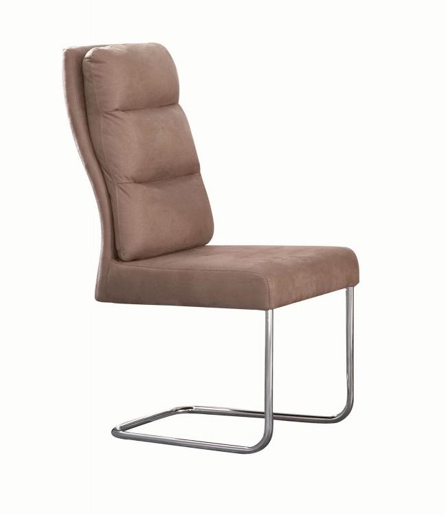 Nessa Side Chair - Khaki Fabric