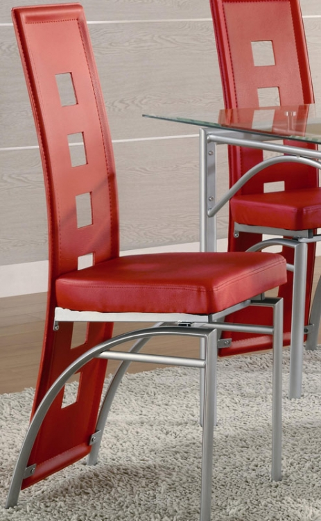 Los Feliz Dining Chair - Red