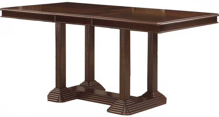 Sullivan Counter Height Table - Brown Cherry