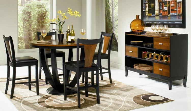 Boyer Round Counter Height Dining Set - Coaster