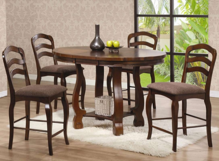 Marcus Round Counter Height Dining Set - Coaster