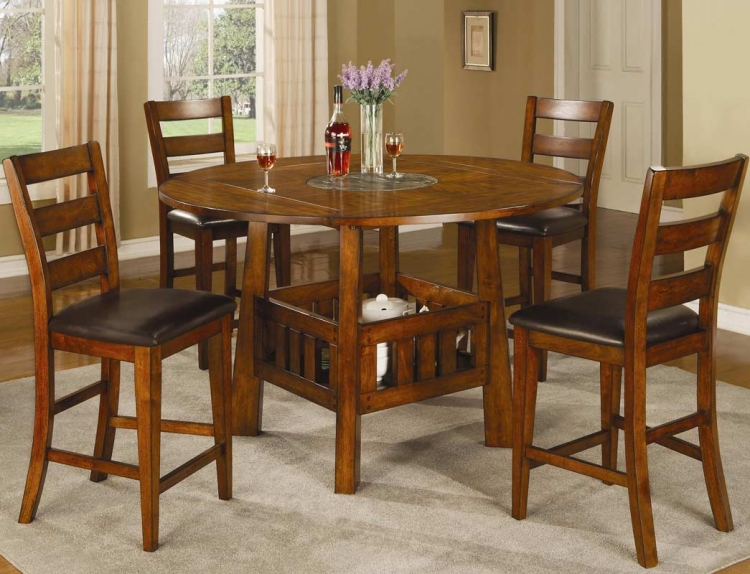 Lavista Round/Square Counter Height Dining Set - Coaster