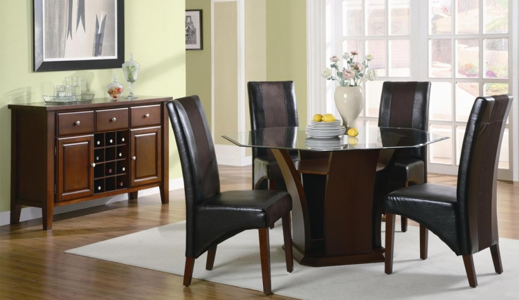 Rodeo Octagon Dining Set - Coaster