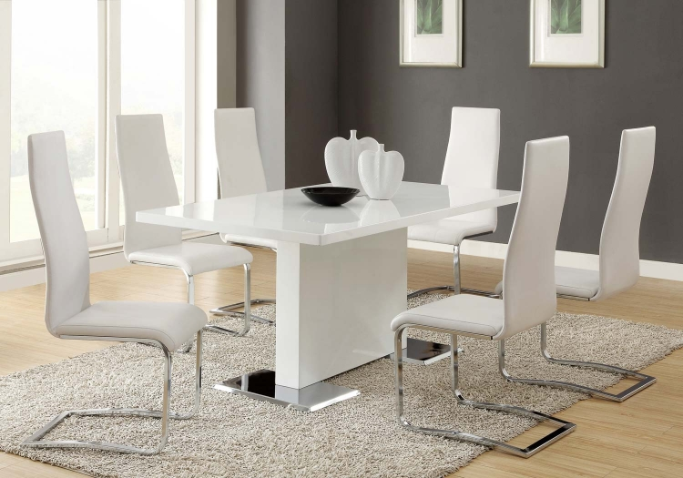 Mix & Match White Dining Set - White Chair
