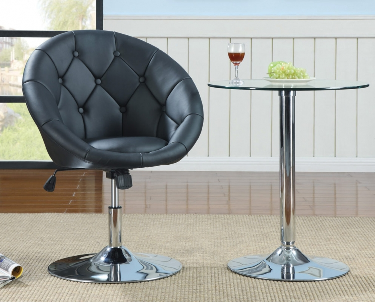 102551 Table and Swivel Chair Set