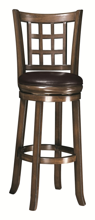 29-Inch Wooden Bar Stool - Oak