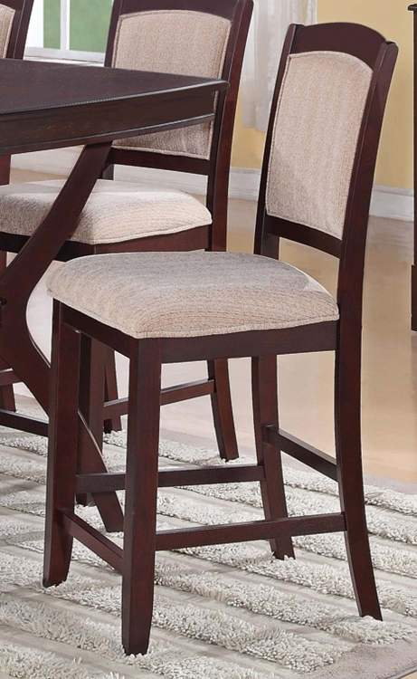 Memphis Counter Height Chair - Cappuccino