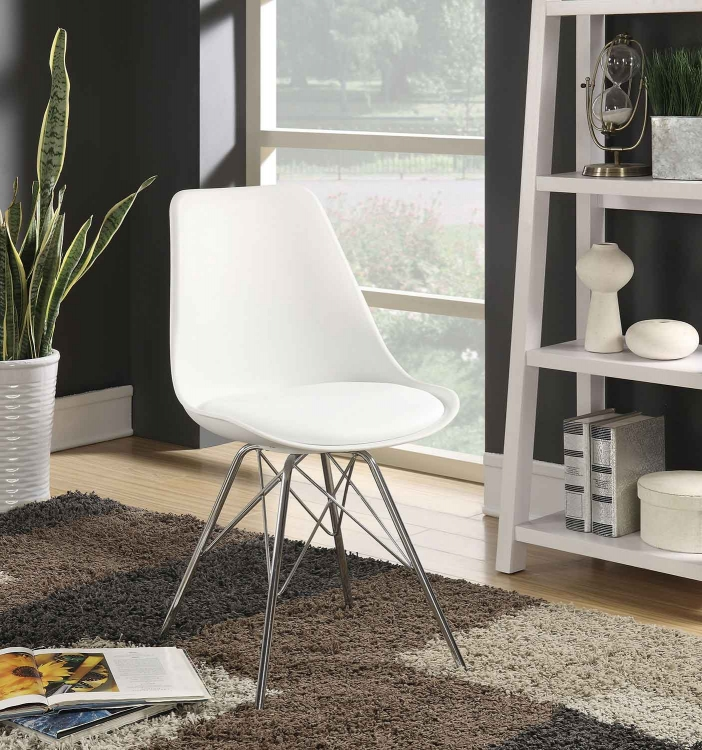 Lowry Side Chair - White