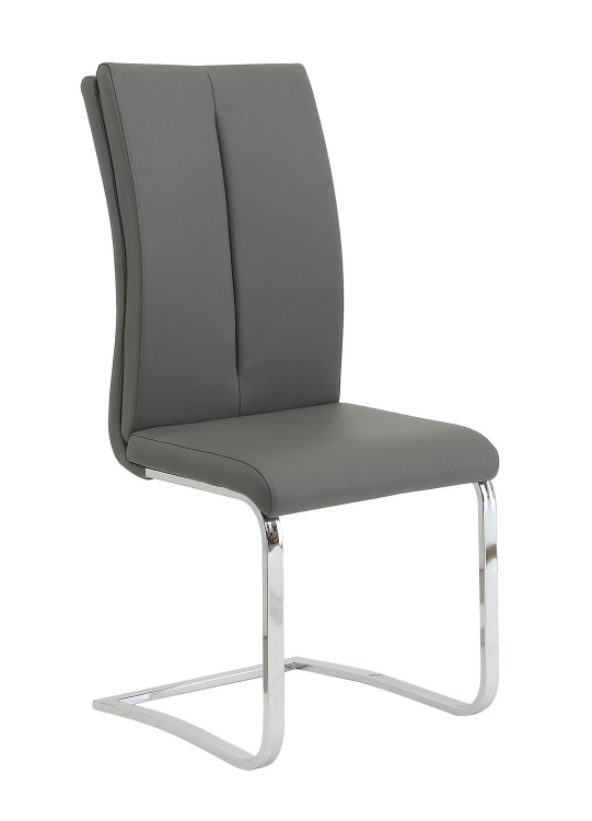 Giovanni Side Chair - Black Leatherette