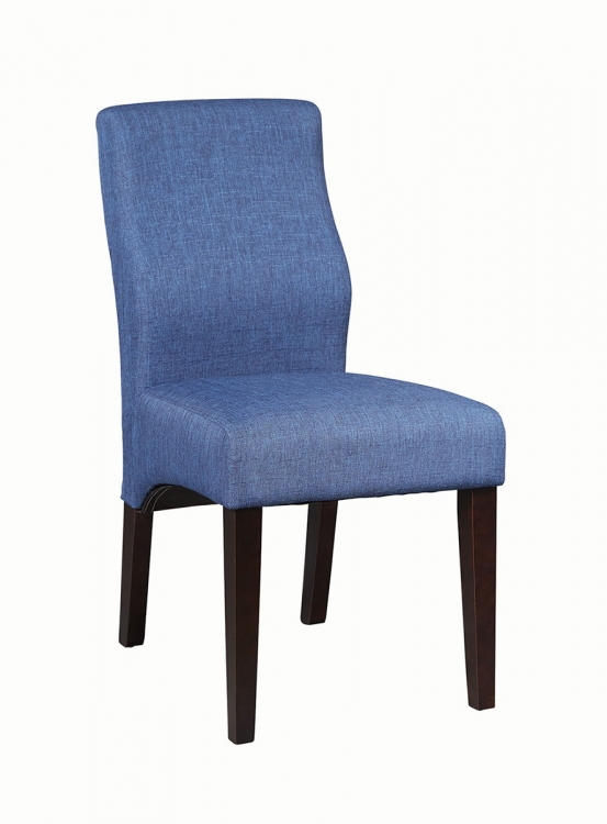 102838 Side Chair - Dark Blue