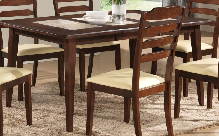 Baker Dining Table - Warm Brown
