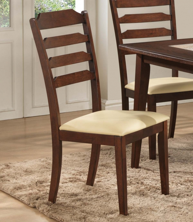 Baker Side Chair - Warm Brown