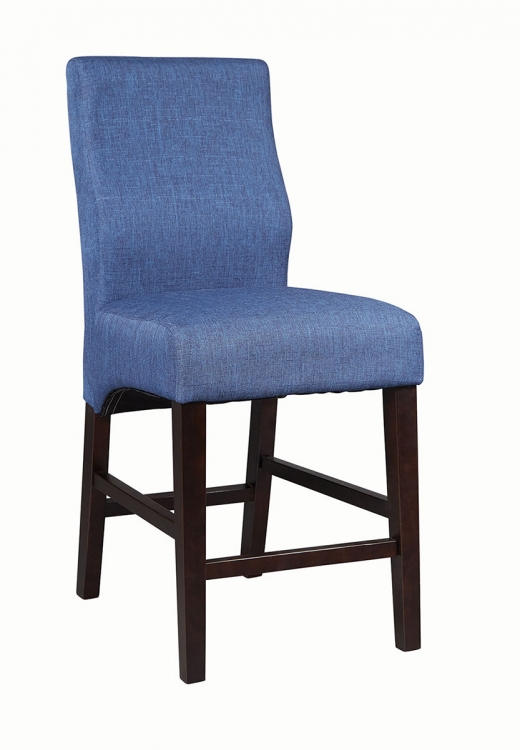 Dorsett Counter Height Chair - Dark Blue