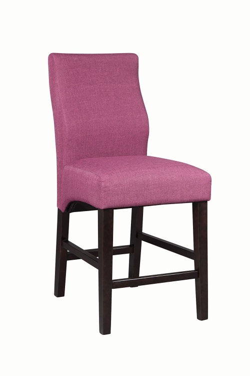 Dorsett Counter Height Chair - Purple