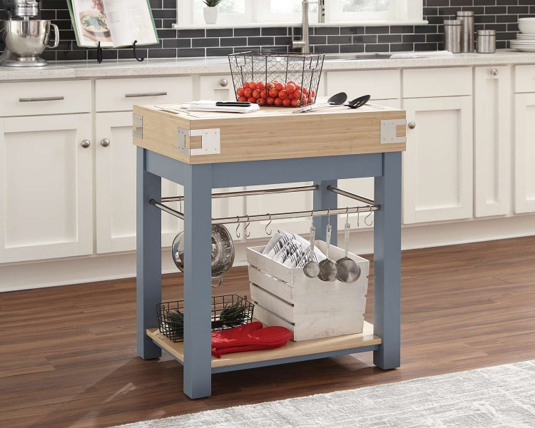 102987 Kitchen Islands - Blue