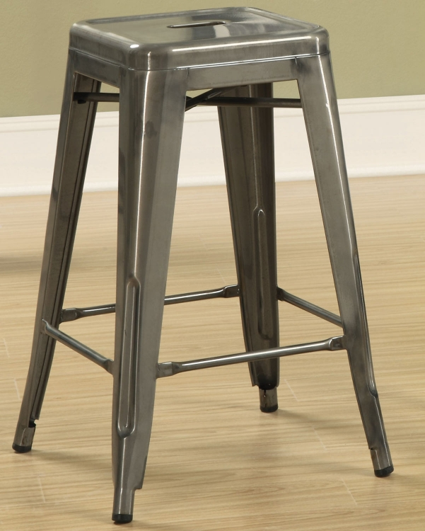 103059CL Counter Stool - Silver