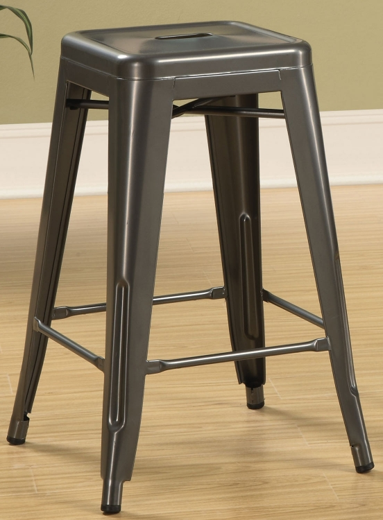 103059GN Counter Stool - Dark Grey