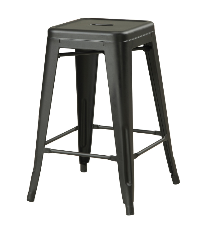 103059MB 24 Counter Height Stool - Matte Black