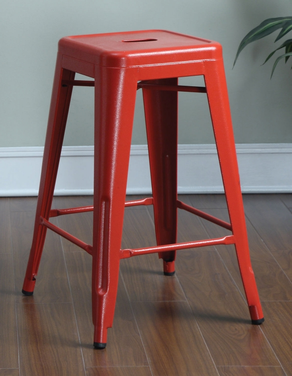 103059R Counter Stool - Red