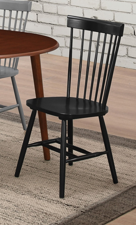 Emmett Side Chair - Black