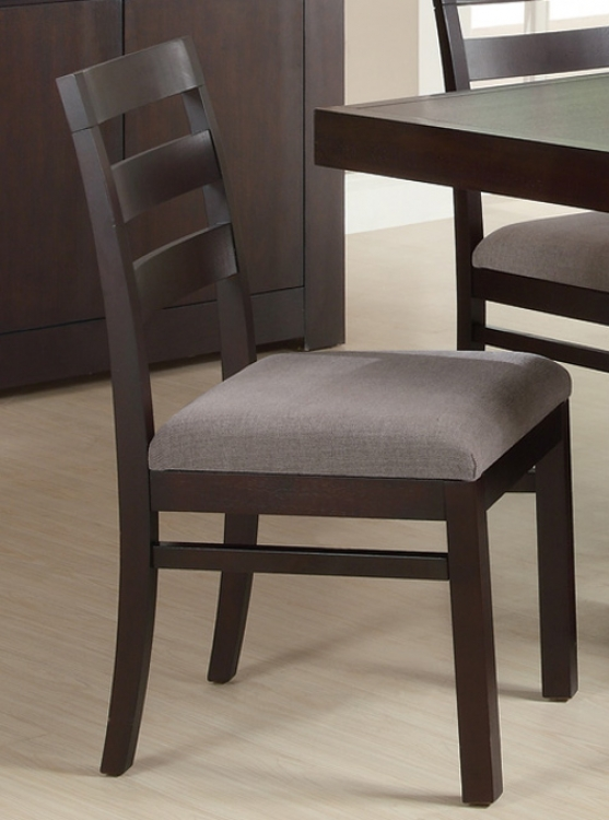 Dabny Dining Chair - Cappuccino - Coaster