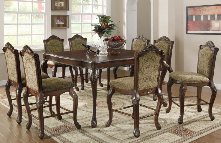 Andrea Counter Height Dining Set - Coaster