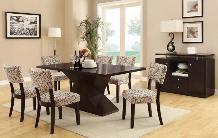 Libby Dining Set - Cappuccino